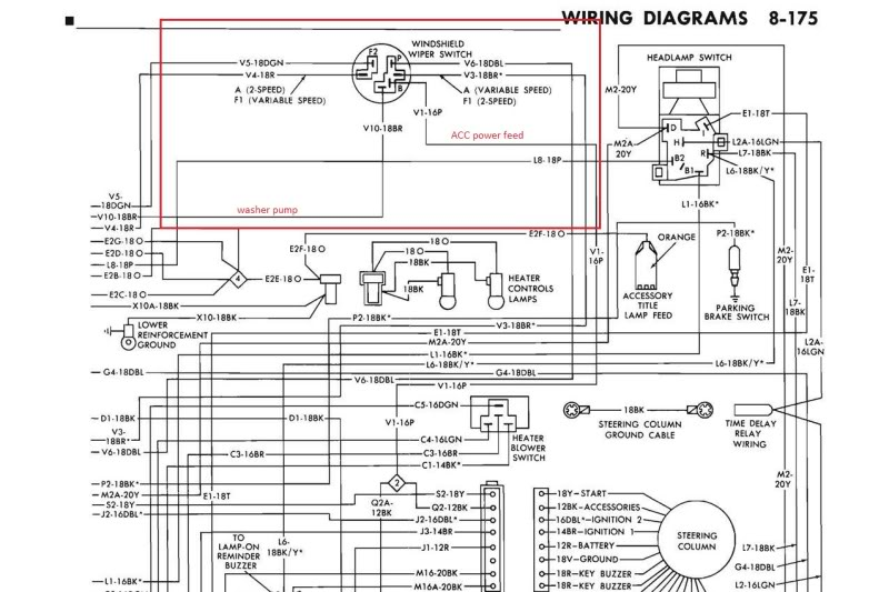 MoparWiperMotorWiringDiagram mopar wiring diagram 1972 dodge demon wiring diagrams \u2022 wiring wiring diagram for 1972 dodge charger at eliteediting.co